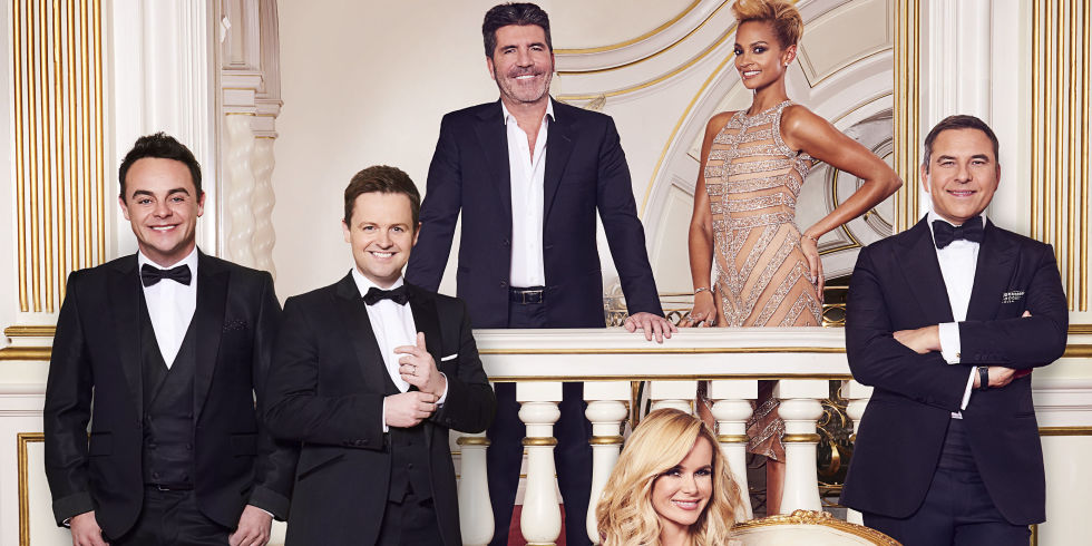 Britain's Got Talent 2016: Ant & Dec, Simon Cowell, Amanda Holden, Alesha Dixon and David Walliams