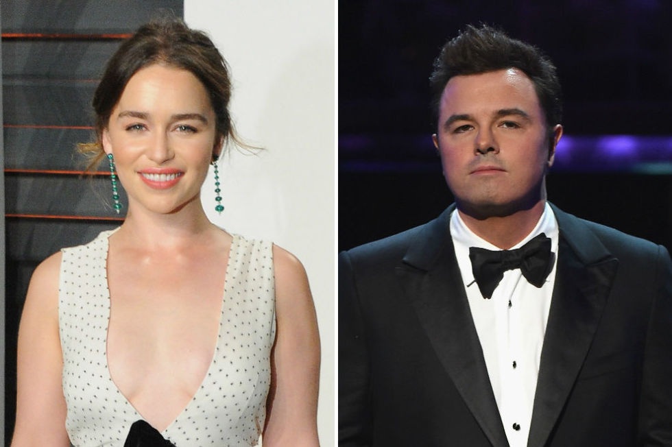 Game of Thrones' Emilia Clarke on former Seth MacFarlane ...