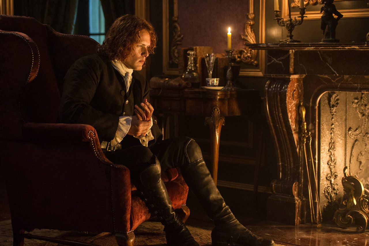 Jamie in Outlander s02e02