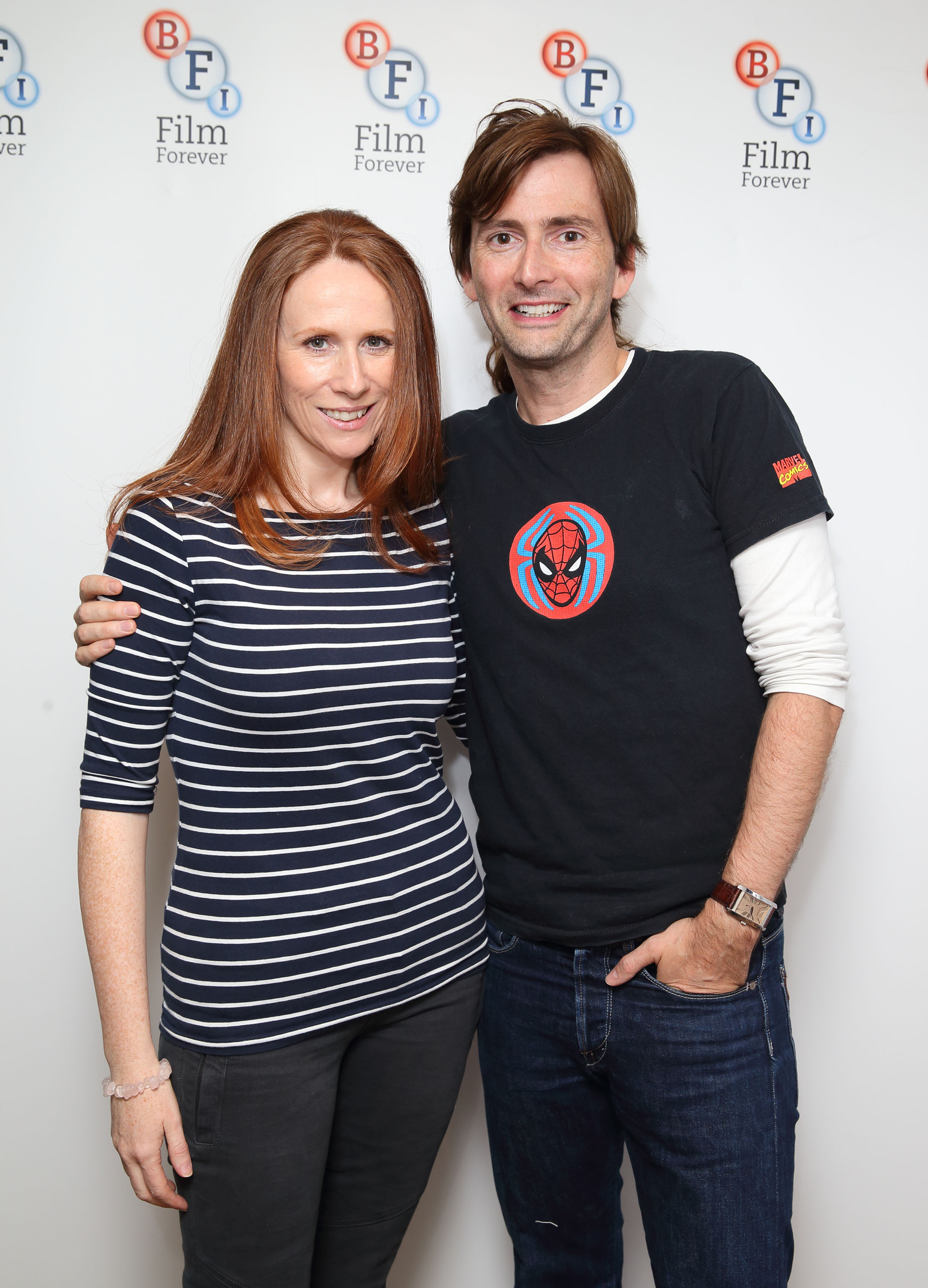 catherine tate and david tennant spoken Guests in the sketches included david tennant tennant plays her new english teacher in the 2007 christmas special of the catherine tate.