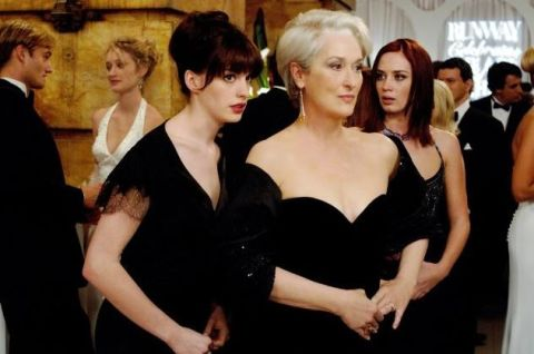 Anne Hathaway & Meryl Streep in The Devil Wears Prada (2006)