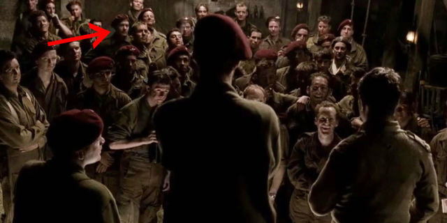 Tom Hanks Band Of Brothers Cameo