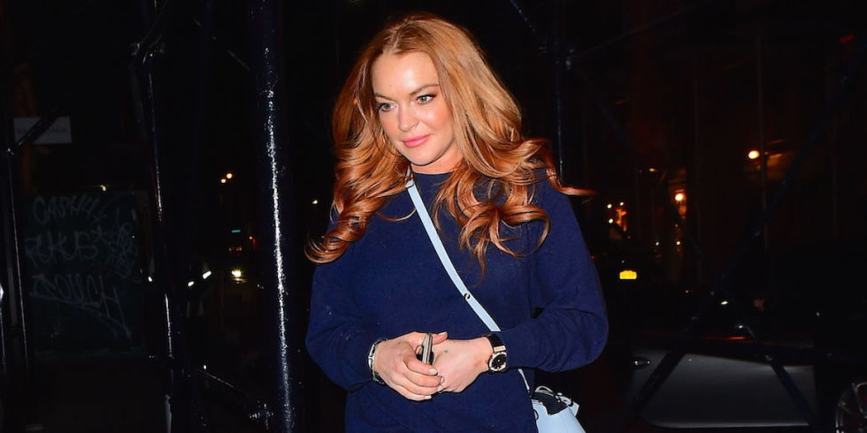 Is Lindsay Lohan Engaged After All