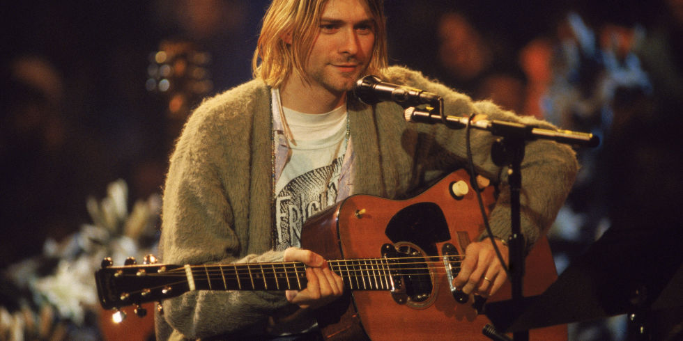 Is kurt cobain still alive nirvana speak out on the latest bonkers kurt cobain performs with his group nirvana at a taping of the television program mtv gumiabroncs Images