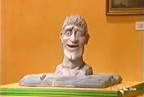 The Head from CITV's Art Attack