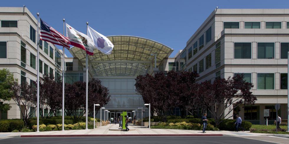 Apple Company Building Headquarter