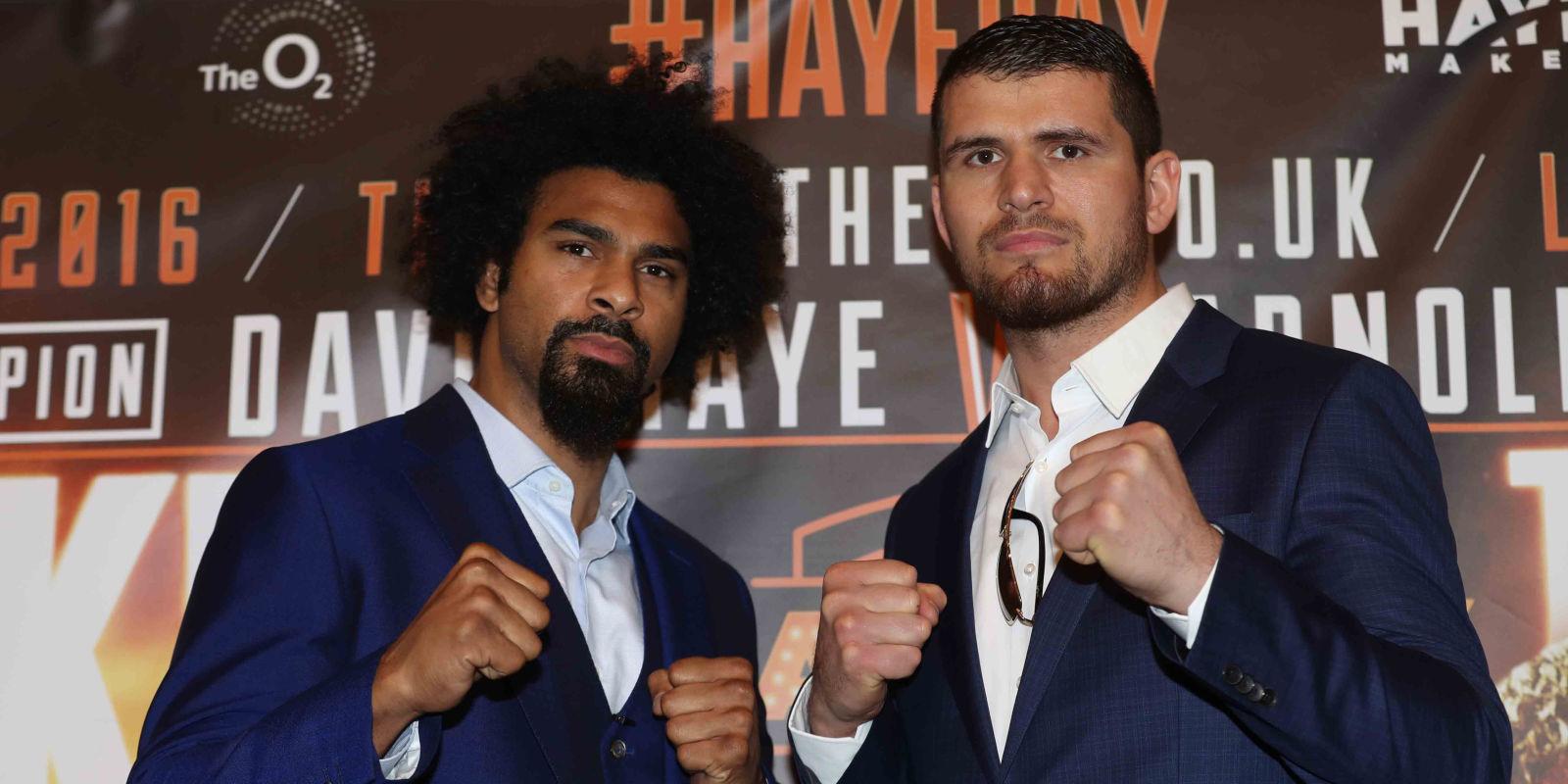 david hayes next fight