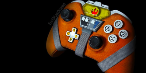 this star wars x wing xbox one controller is to die for. Black Bedroom Furniture Sets. Home Design Ideas