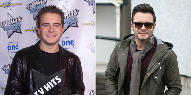 Shane Filan then and now
