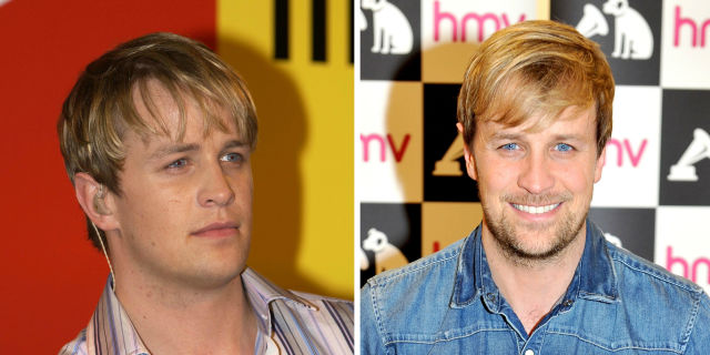 Westlife Kian Egan then and now