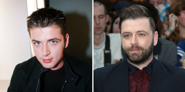 Westlife Mark Feehily then and now