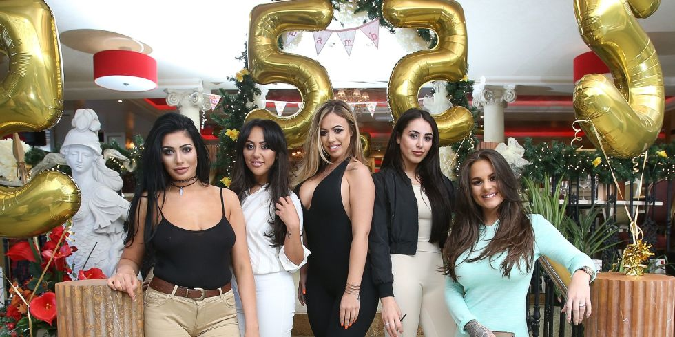 The Geordie Shore Cast Partying At Shows 5th Birthday Party In Newcastle