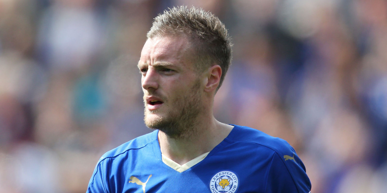 Stop everything Leicester City s Jamie Vardy is ting his own