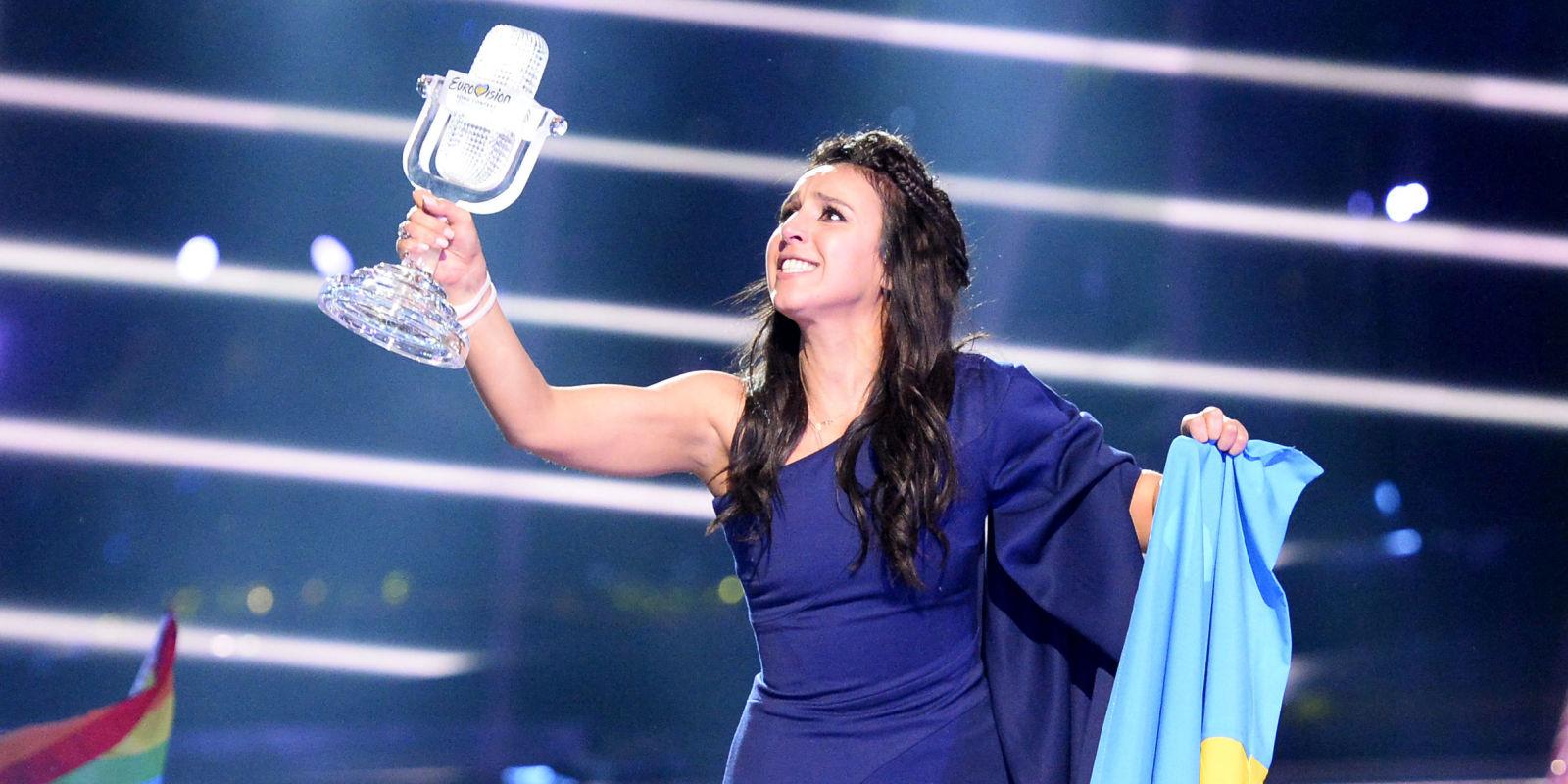 Eurovision 2016: Jamala wins for Ukraine