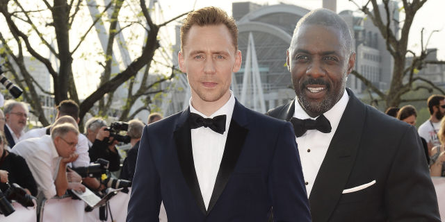 Tom Hiddleston, Idris Elba, BAFTAS
