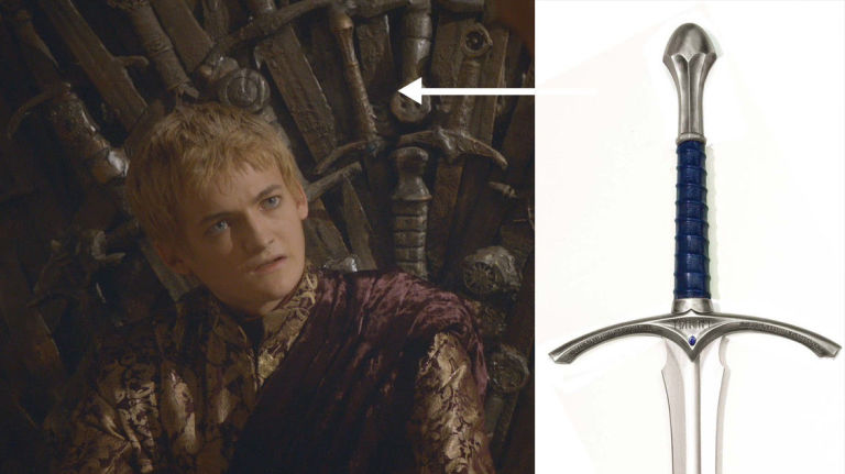 Gandalf's sword in Game of Thrones