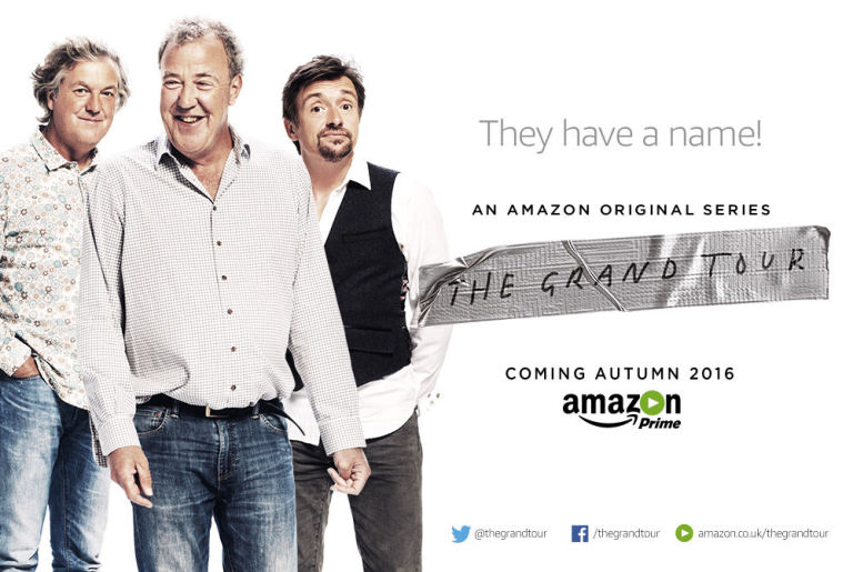 The Grand Tour Amazon Primes Top Gear Jeremy Clarkson Richard - Jeremy clarkson new car show