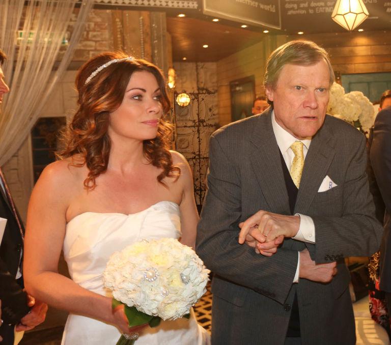 Roy Walks Carla Down The Aisle