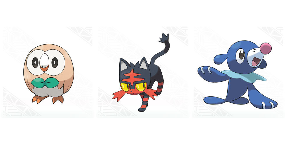 we finally know what the pokémon sun moon starters final evolutions
