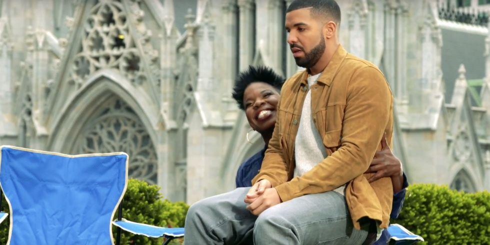 Watch Snls Leslie Jones Make An Indecent Proposal To Drake Let Me