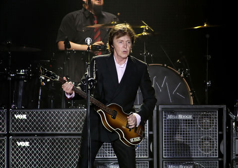 Paul McCartney Performing His On The Run Tour