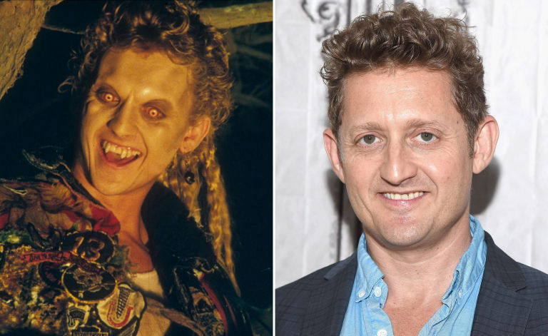 alex winter the lost boys then and now - Christmas Story Cast Now