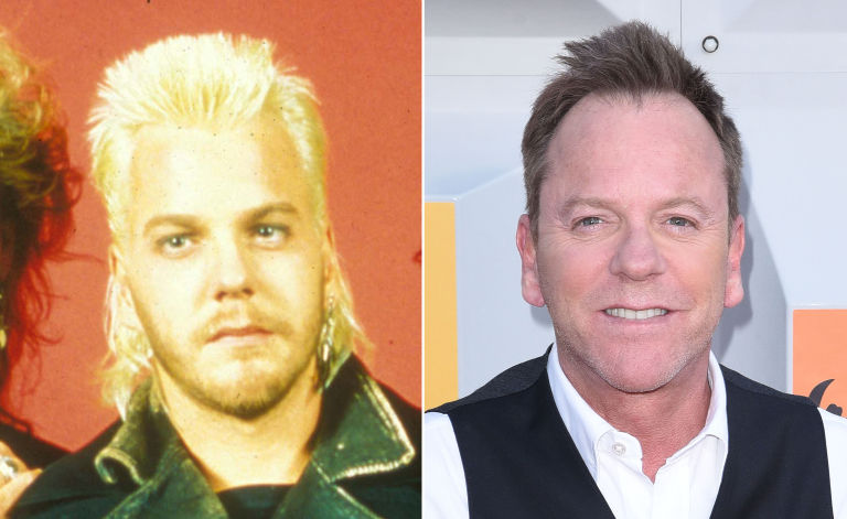 keifer sutherland the lost boys then and now - Christmas Story Cast Then And Now