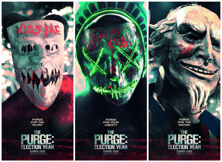 The Purge Election Year Poster Wallpapers: All Categories