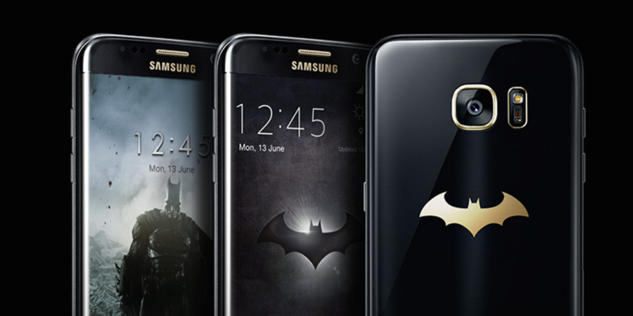 Samsung galaxy s7 edge olympic edition will unveil on july 7 mobile - Samsung S Batman Special Edition Of The Galaxy S7 Edge Is The Smartphone You Deserve