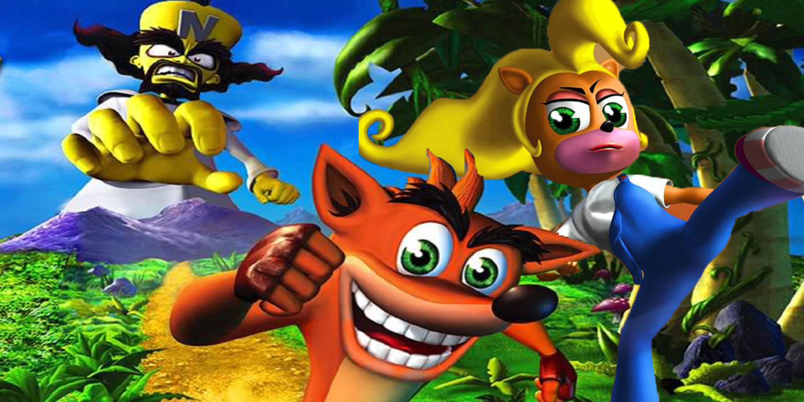 can you name these classic crash bandicoot characters
