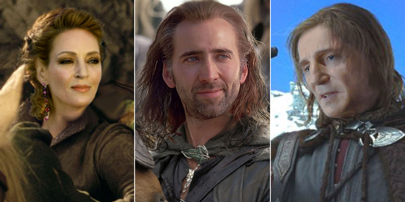 what the lord of the rings films would look like with the