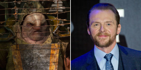 """Simon Pegg jokes that his Star Wars character is a """"significant part"""" of Episode IX"""