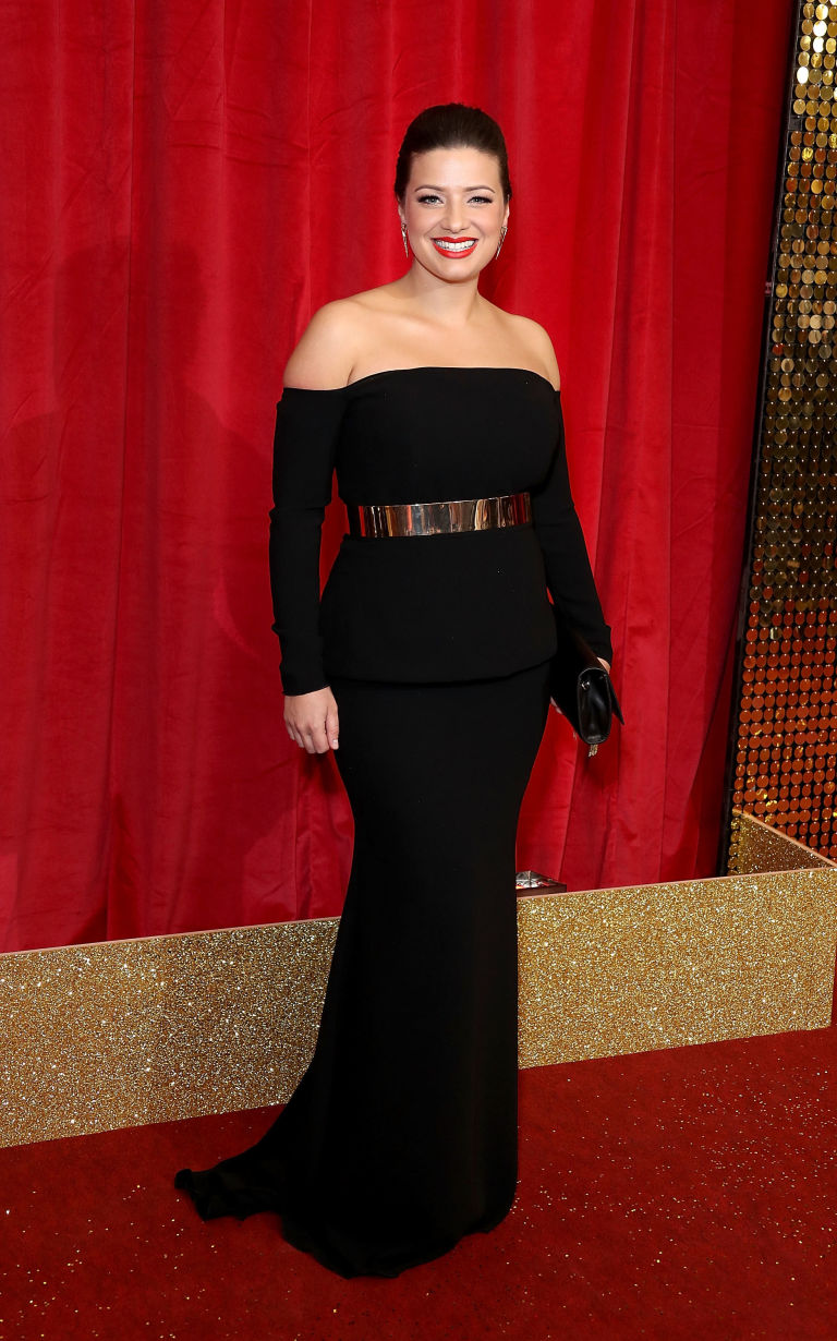 Soap awards 2018 same dress in many colors