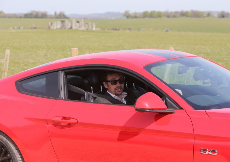 Richard Hammond Filming The Grand Tour