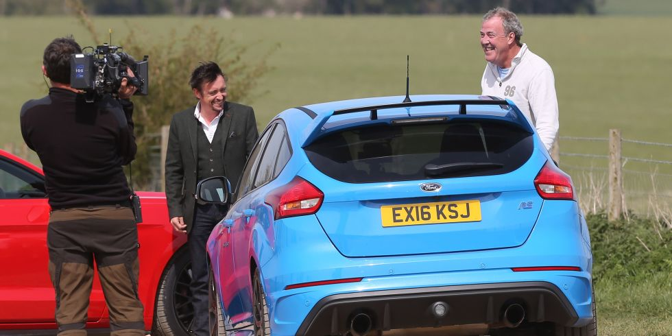 Jeremy Clarkson And Richard Hammond Filming The Grand Tour