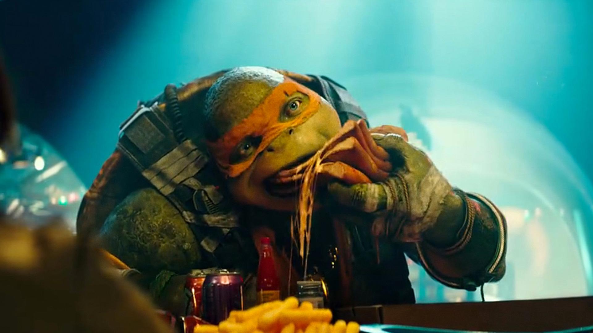 Ninja turtles michelangelo movie