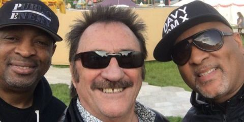 paul chuckle is hanging with public enemy and he s got a selfie to