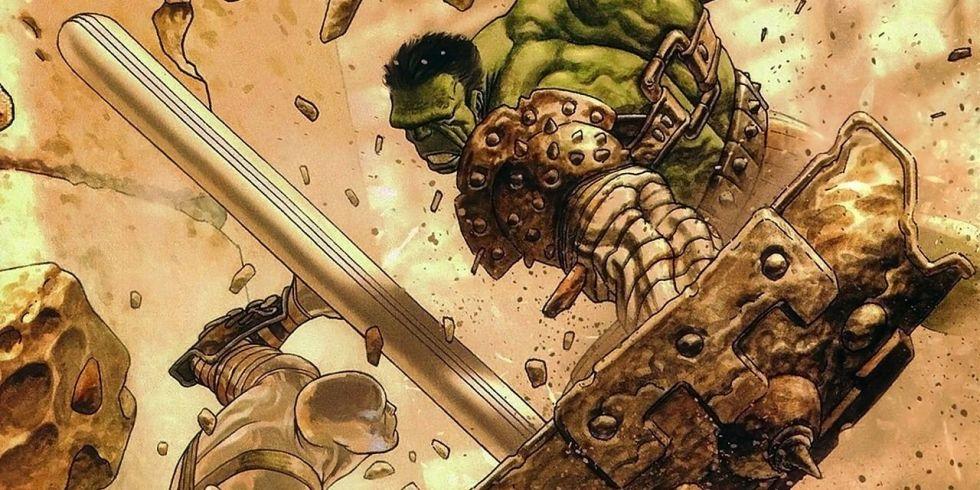 Hulk als Gladiator in Planet Hulk