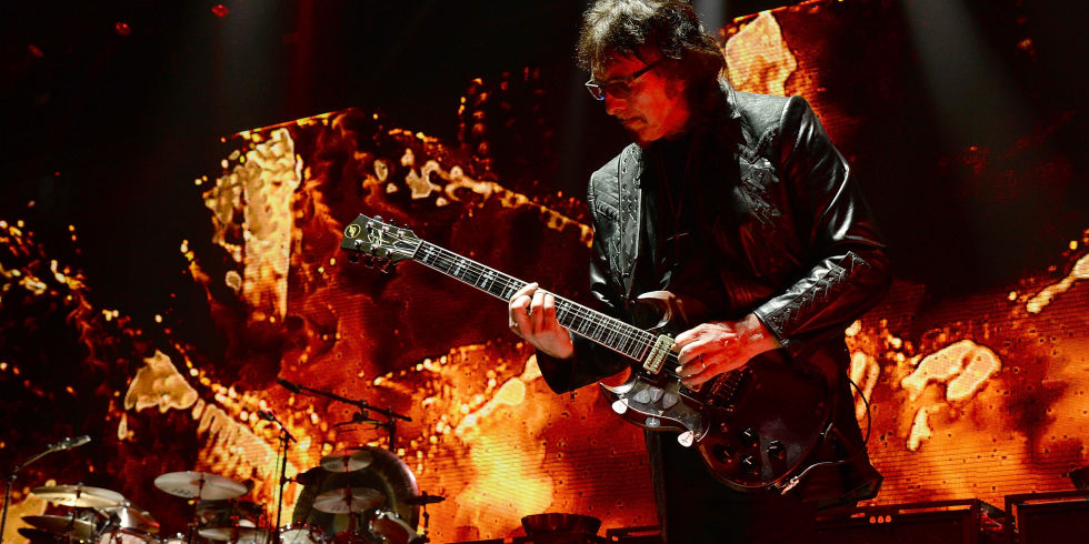Win two vip tickets to download festival and two cool zippo tony iommi performs with black sabbath onstage at madison square garden on february 25 2016 m4hsunfo