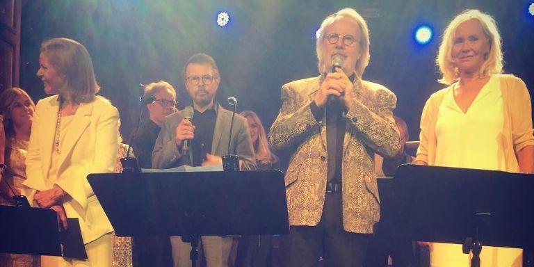 ABBA Reunite For Rare Performance To Celebrate 50th Anniversary