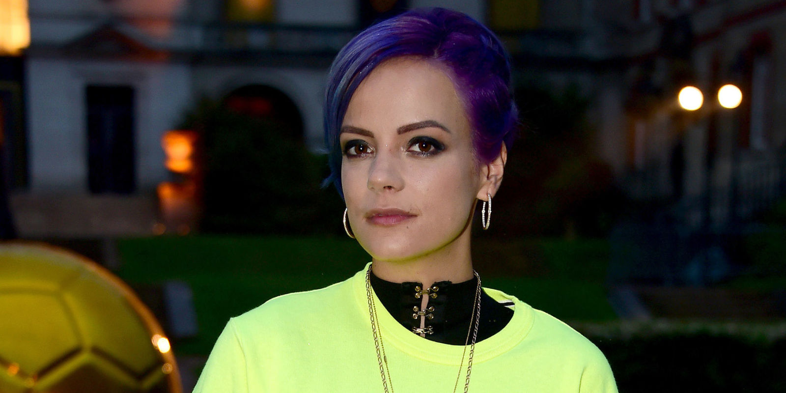 Lily Allen skips Glastonbury for the first time in a ... Lily Allen