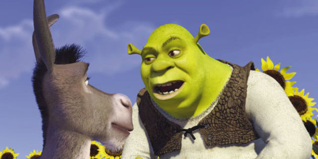 an analysis of the story behind shrek a popular movie