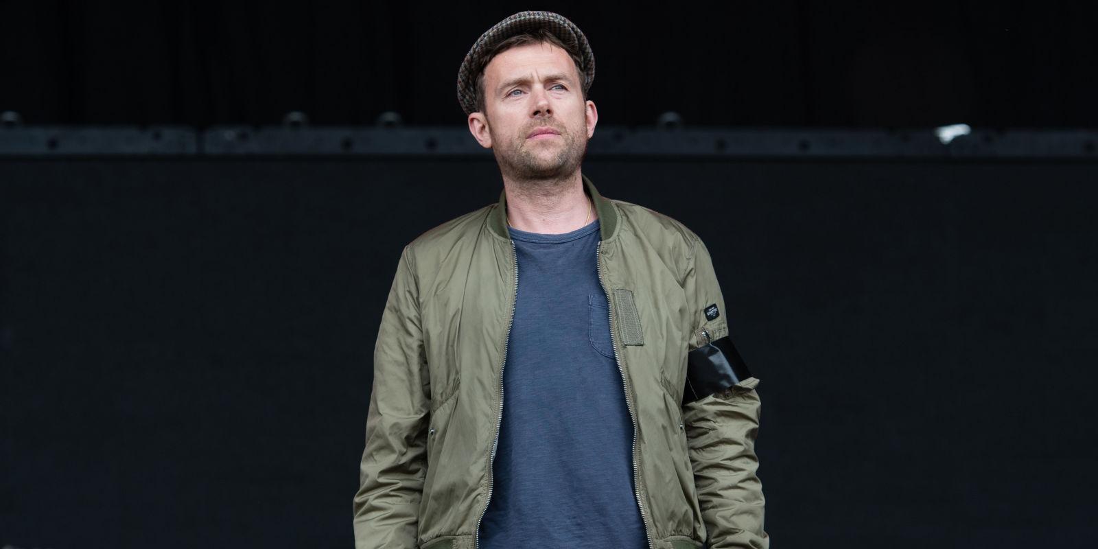 Blur 39 s damon albarn tells glastonbury crowd that for Damon albarn