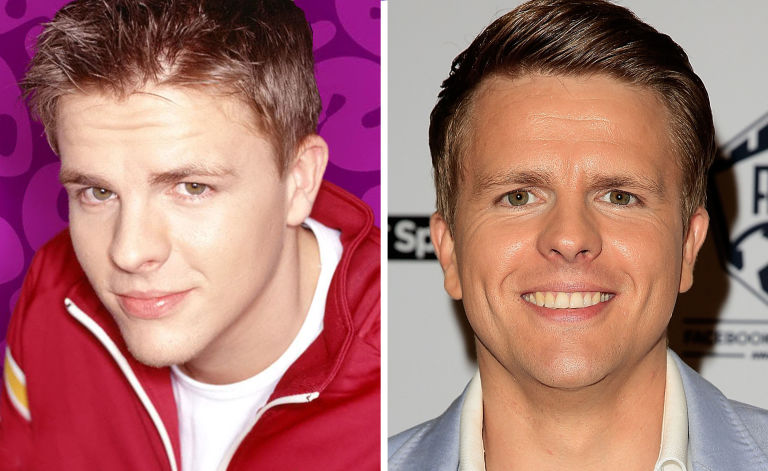 Image result for jake humphrey then and now