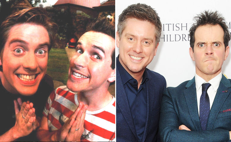 Image result for dick and dom then and now