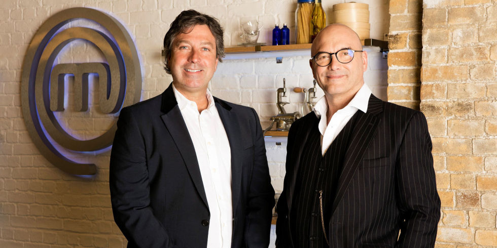 John Torode And Gregg Wallace On Celebrity Masterchef