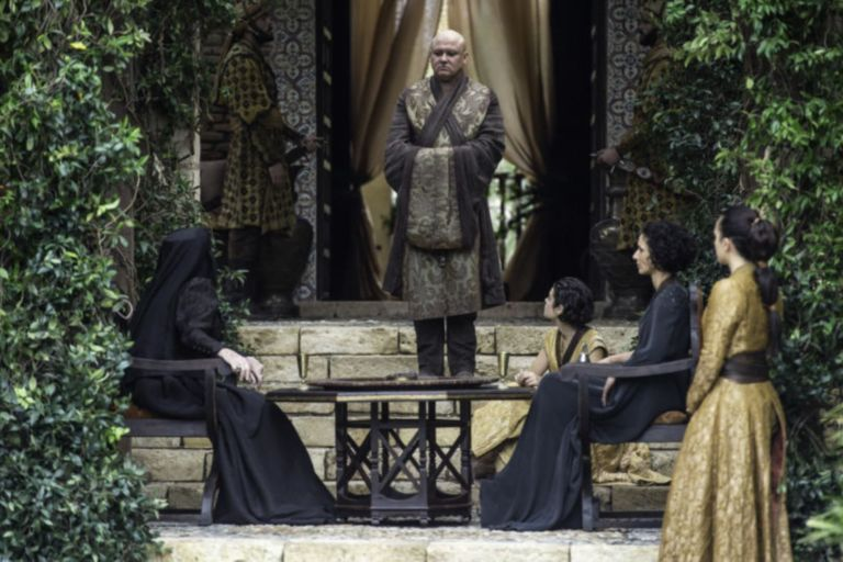 Varys arrives in Dorne in Game of Thrones s06e10, 'The Winds of Winter'