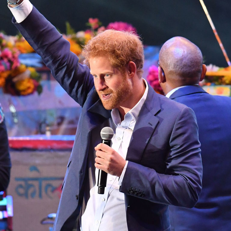 Prince Harry Lives Out His Rockstar Fantasies As He Joins