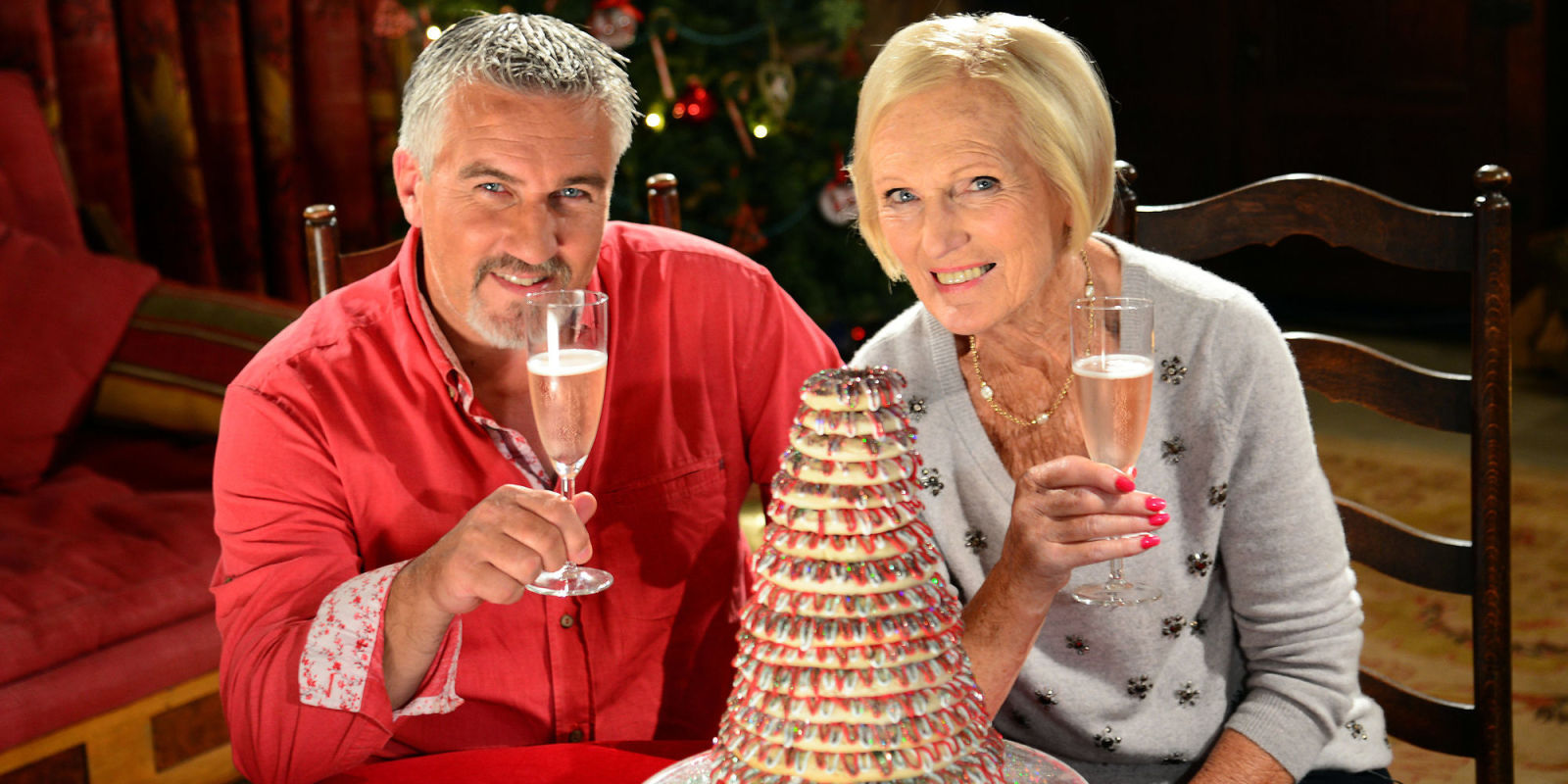 great british bake off christmas cake recipes