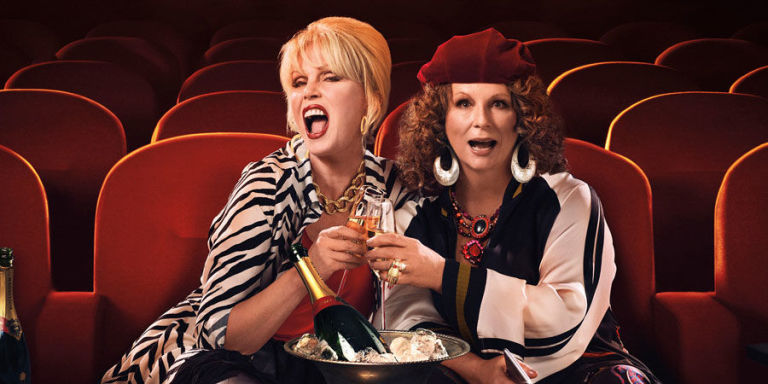 Absolutely Fabulous fans say they were thrown out of cinema for laughing too much